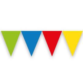 Vlaggenlijn ''Gekleurd'' (10 meter)