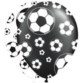 Ballonnen ''Voetbal'' (8 stuks)