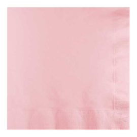 Servetten classic pink (33x33cm, 20 stuks)