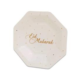 Borden ''Eid Mubarak'' (Klein, 8 stuks)