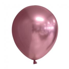 Ballonnen Chroom ''Roze'' (10 stuks)