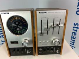 Sony vintage stereoversterker en receiver TA 88 / St 88