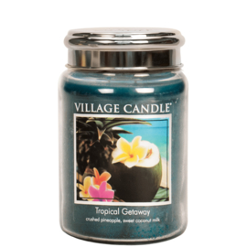 Village Candle Tropical Getaway - Large Candle