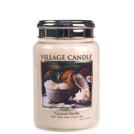 Village Candle Coconut Vanilla - Large Candle