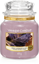 Yankee Candle Dried Lavender & Oak - Medium
