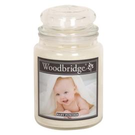 Baby Powder 565g Large Candle