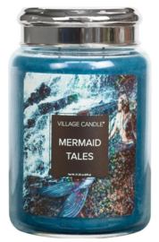 Village Candle Mermaid Tales - Large Candle