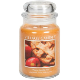 Village Candle Warm Apple Pie - Large Candle