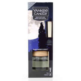 Yankee Candle Midsummer Night Reed Diffuser - STARTER KIT