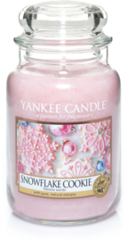 Yankee Candle Snowflake Cookie - Large