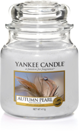 Yankee Candle Autumn Pearl - Medium