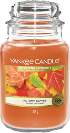 Yankee Candle Autumn Leaves - Large