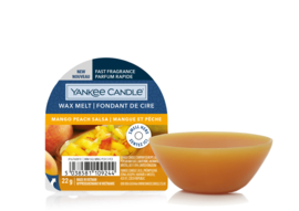 Yankee Candle Mango Peach Salsa - New Wax Melt