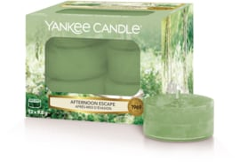 Yankee Candle Afternoon Escape - Tea Lights 12st