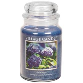Village Candle Hydrangea - Large Candle
