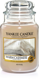 Yankee Candle Warm Cashmere - Large