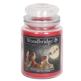 Woodbridge Night Before Christmas 565g Large Candle
