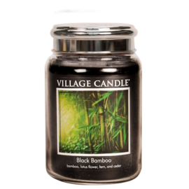 Black Bamboo 737gr Large Candle