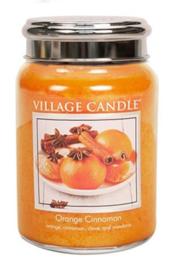 Village Candle Orange Cinnamon - Large Candle