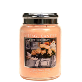 English Flower Shop 737gr Large Candle