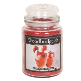 Strawberry Prosecco 565g Large Candle