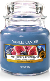 Yankee Candle Mulberry & Fig Delight - Small