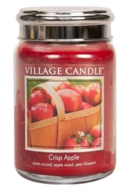 Village Candle Crisp Apple - Large Candle