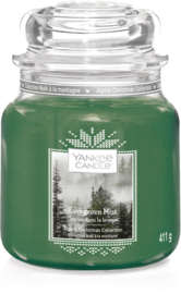 Yankee Candle Evergreen Mist - Medium