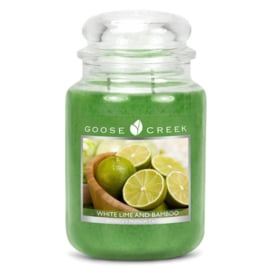 Goose Creek White Lime & Bamboo Large