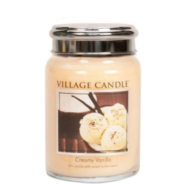 Village Candle Creamy Vanilla - Large Candle