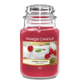 Yankee Candle Cherries On Snow - Large