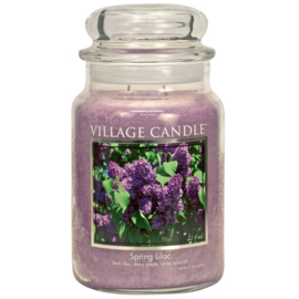 Village Candle Spring Lilac - Large Candle