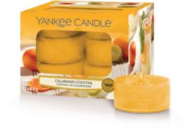 Yankee Candle Calamansi Cocktail - Tea Lights 12st