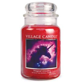 Village Candle Magical Unicorn - Large Candle