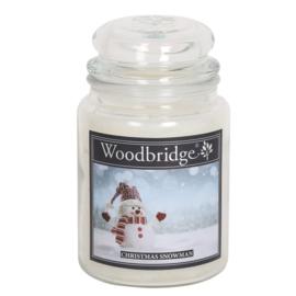 Woodbridge Christmas Snowman 565g Large Candle