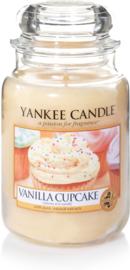 Yankee Candle Vanilla Cupcake - Large