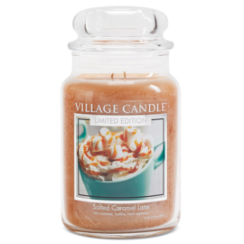Village Candle Salted Caramel Latte - Large Candle