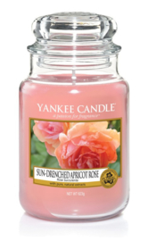 Yankee Candle Sun-Drenched Apricot Rose - Large