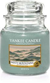 Yankee Candle Misty Mountains - Medium