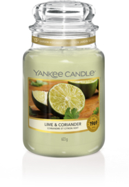 Yankee Candle Lime & Coriander - Large