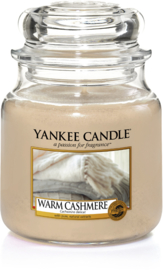 Yankee Candle Warm Cashmere - Medium