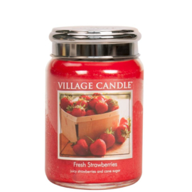 Fresh Strawberries 737gr Large Candle