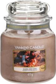 Yankee Candle Warm & Cosy - Medium