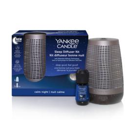 Yankee Candle Sleep Diffuser Bronze Starter Kit EU
