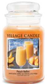 Village Candle Peach Bellini - Large Candle