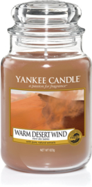 Yankee Candle Warm Desert Wind - Large