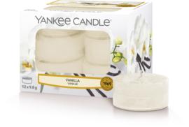 Yankee Candle Vanilla - Tea Lights 12st