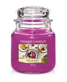 Yankee Candle Exotic Acai Bowl - Medium