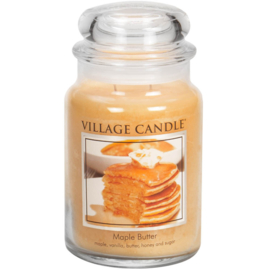 Village Candle Maple Butter - Large Candle