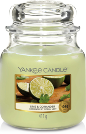 Yankee Candle Lime & Coriander - Medium